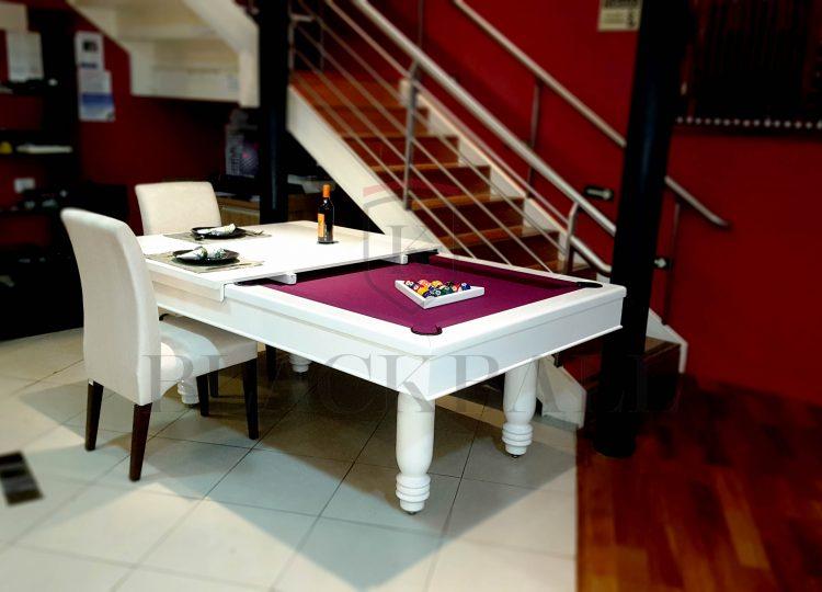 Fábrica de Mesa de Sinuca - BLACKBALL - Mesa de bilhar e jantar