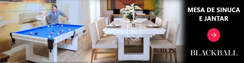 Mesas de Sinuca e Jantar